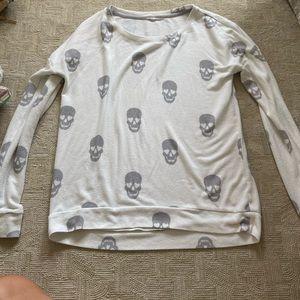 PJ Salvage Skull Sweater